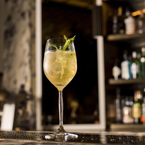 Winking Sun cocktail